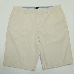 J.Crew Rivington Flat Front Shorts - Beige - W35